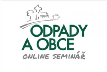 Pozvánka na online seminář Odpady a obce